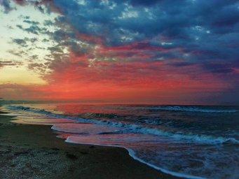 Закат над морем. Одесса