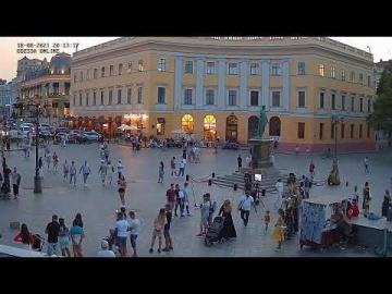Дюк справа | Приморский бульвар | Odessa ONLINE
